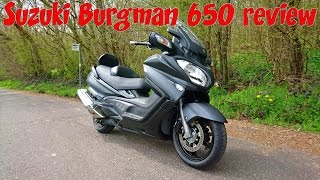 7. Suzuki Burgman 650 executive review!