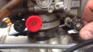 6. Husqvarna TE510 2007 Carburetor removal Part 2