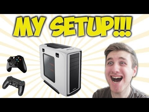 setup - My Gaming Setup!!! Can we reach 10000 Likes? XD Subscribe for more! Equipment I use: Custom PC Xbox One El Gato Game Capture Device Samson CO1U Microphone P...