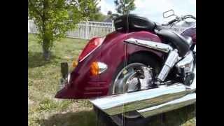 10. 2006 Honda VTX1300R stock #9-9240 demo ride & walk around @ Diamond Motor Sports