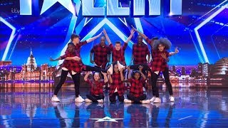 Britain's Got Talent 2018 DVJ Kid Dance Crew Full Audition S12E01