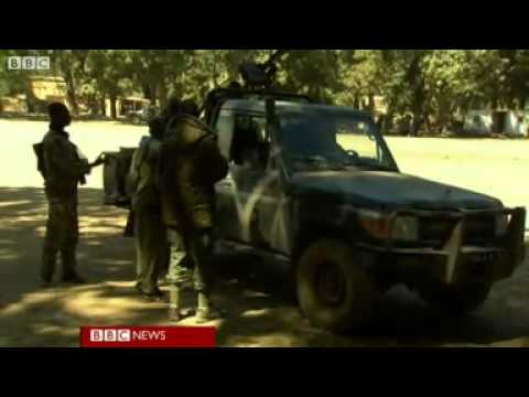 Mali: BBC reports from inside seized Diabaly