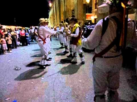 Maurice dancers in Malta