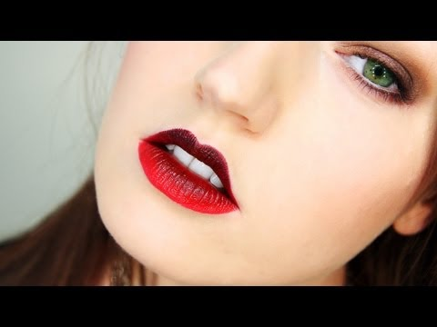 OMBRE LIPS Fall Trend How-To