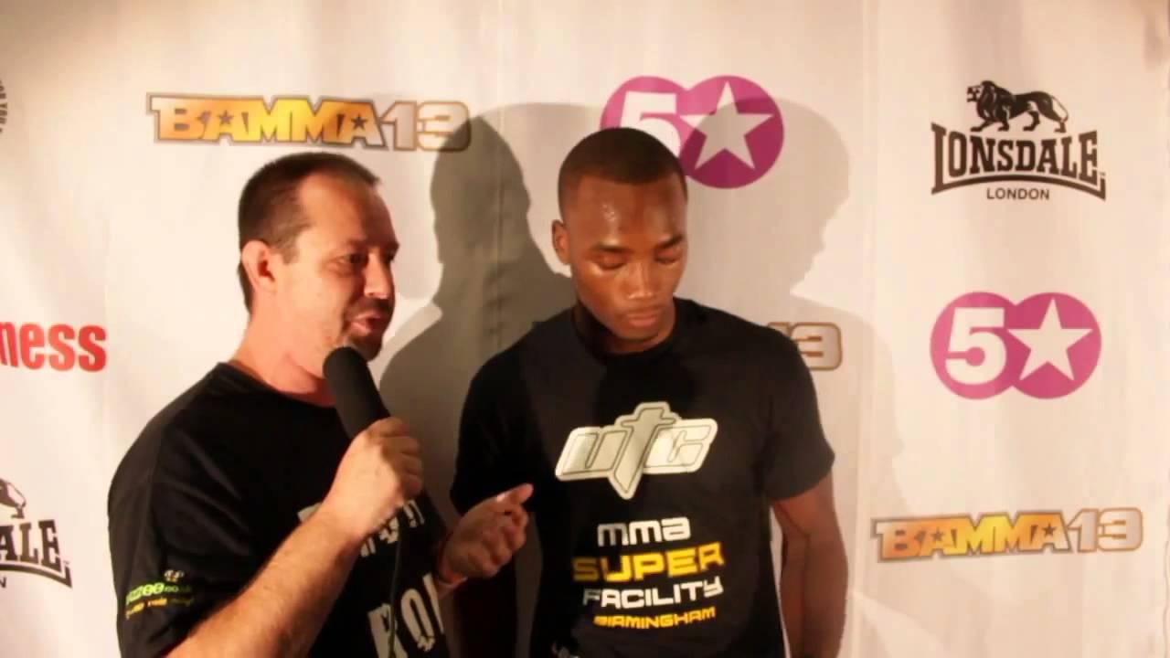 UTC's Leon Edwards BAMMA 13 Post Fight Interview
