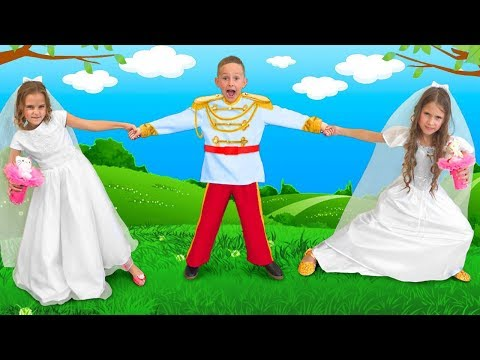 Masha and Katya want to Marry a Prince and do not Share a Wedding Dress