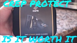 Today Teej will be doing an in depth review of Crep Protect Cure Cleaning Kit. This kit includes an all purpose brush, a small towel, and the cleaner solution.  Huge shoutout to my girlfriend for getting this kit!THANKS FOR WATCHING PLEASE LIKE COMMENT AND SUBSCRIBE FOR MORE CONTENT EVERY THURSDAY!