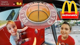 Video VLOG - Parcours Fun au Ronald Gym Club de McDonald's MP3, 3GP, MP4, WEBM, AVI, FLV Oktober 2017