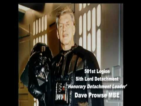 501st Sith Lord Detachment presentation to Dave Prowse Hon Detachment Leader