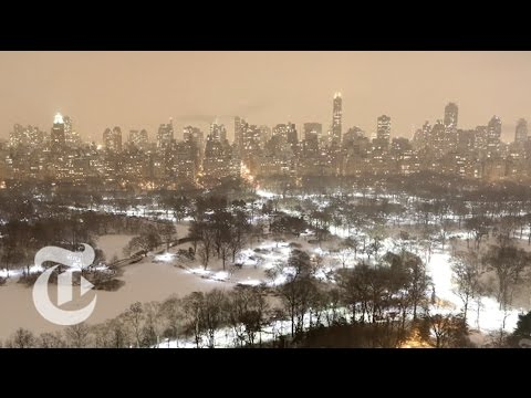 NEW - From around Manhattan, timelapse views of the late-January snowstorm. Produced by: Margaret Cheatham Williams and Catherine Spangler Subscribe to the Times Video newsletter for free and get...