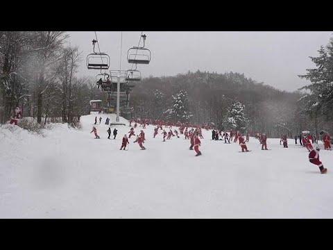 Άγιοι Βασίληδες κάνουν… σκι!