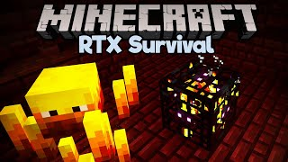 Double Blaze Nether Fortress! • Minecraft RTX Survival S2 [Part 7]