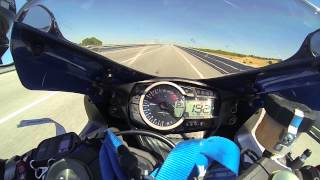 8. Top speed GSXR 750 2011 GO-PRO Hero 3