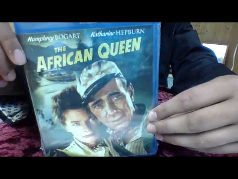 THE AFRICAN QUEEN 1951 PARAMOUNT PICTURES BLU-RAY UNBOXING REVIEW