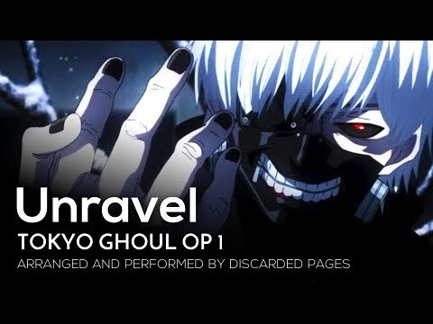 "Tokyo Ghoul OP 1 - ""Unravel"" (English)【Metal Cover】 2018 Remix"