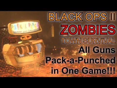 all guns pack a punched in one game black ops
