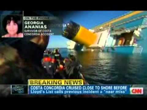 Maritime Lawyer Jack Hickey on the Costa Concordia Disaster with Anderson Cooper
