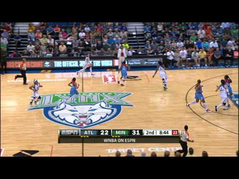 Maya Moore and Lindsay Whalen Highlights: Lynx defeat Dream- 94-82