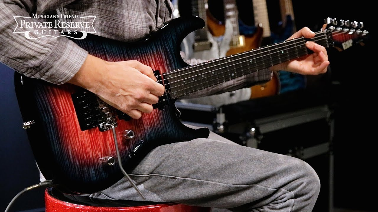 ESP 2-Color Burst SA M-II FR Electric Guitar