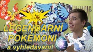 Legendární pokemoni už jsou skoro tady! Díky Raidum už se k nám dostanou! Také už máme vyhledávání v Pokémon GO a to...