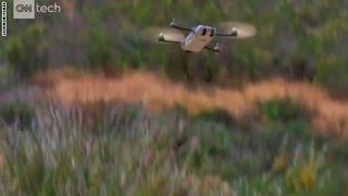 بالفيديو.. طائرة بدون طيار بحجم العصفور يصعب رصدها