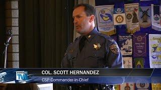 Rotary Honors Fallen Trooper