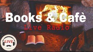 Video Cozy Jazz & Bossa Nova Music With Fireplace - 24/7 Live Stream - Relaxing Cafe Music MP3, 3GP, MP4, WEBM, AVI, FLV Januari 2019