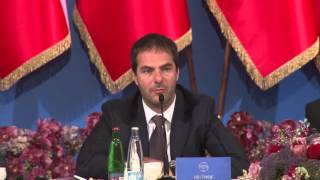Jiri Smejc speech at a Prague business forum