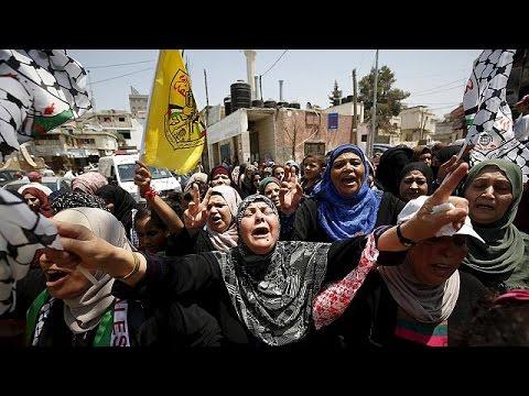 Δυτική Όχθη: Ένταση στην κηδεία 18χρονου Παλαιστίνιου