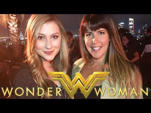 WONDER WOMAN Blu-ray Party! I MET PATTY JENKINS!