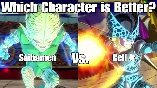 As always thank you guys for watching I hope you guys enjoyed this character test video with saibamen and cell jr be sure to leave your thoughts on the video down below on the video and let me know who you guys think is better cause to be honest I couldn't even decide which of them was better and remember no suggestions for next character test are needed guys!Reaction Channel: https://www.youtube.com/channel/UCp_5SaZkHPAsMt3Pgi9QNOATwitch:https://www.twitch.tv/ssjcabby28Twitter:https://twitter.com/Ssjcabby28