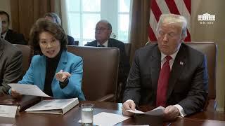 Video President Trump Hosts a Cabinet Meeting MP3, 3GP, MP4, WEBM, AVI, FLV Oktober 2018