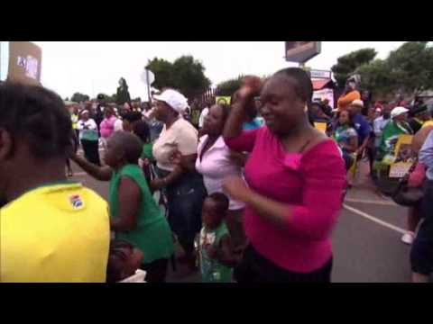 Pay - The mood was both somber and celebratory in South Africa as people gathered to honor Nelson Mandela's life and legacy in the Soweto township where he lived a...