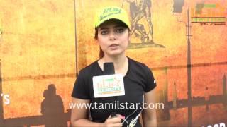Alisha Abdullah at Madras Heritage Marathon 2014