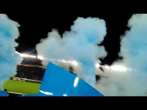 Salida de millonarios vs nacional 2016 - Comandos Azules - Millonarios