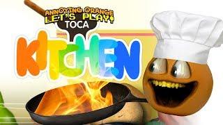 Toca Kitchen! [Annoying Orange Plays]