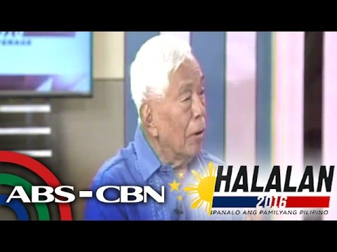 Nene Pimentel gives details on proposal for federalist government