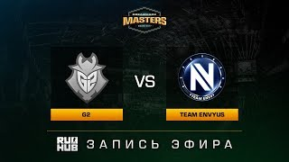 G2 vs Team EnVyUs - Dreamhack Malmo 2017 - de_mirage [sleepsomewhile, MintGod]