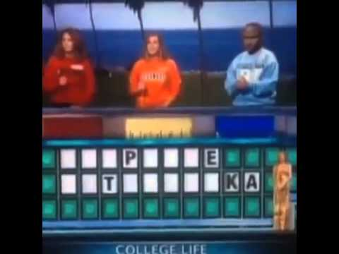 Wheel of Fortune Fail Extremely funny Video LOL