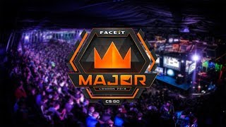 CS GO: Mibr vs. G2 | Astralis vs. Liquid | NAVI vs NiP | FACEIT Major 2018 Fase de Grupos (PT-BR)