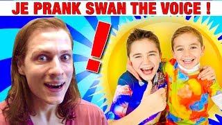 JE PIEGE LA MAMAN DE SWAN THE VOICE ET NEO THE ONE ! PRANK ! J'adore les pranks, blagues et trucs drôles à faire aux...