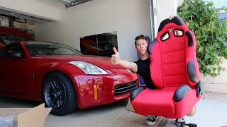 Racing Seats in the 350z - Install! by TJ Hunt