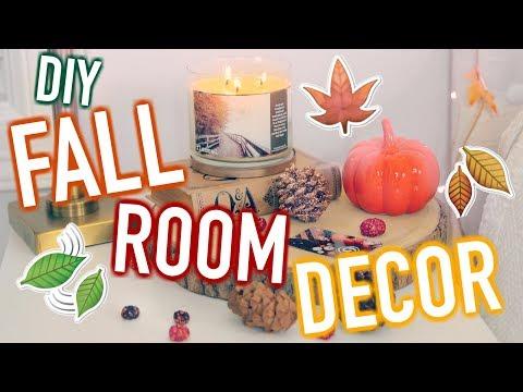 DIY Fall Room Decor! Cute & Cheap Decor Ideas! (видео)