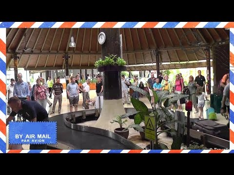 Koh Samui International Airport USM – Arrivals area including baggage claim and airport transfer