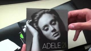 Unboxing 21 (Target Deluxe Edition) Adele