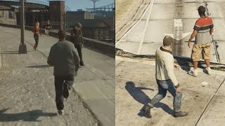 Why GTA 4 is better than GTA 5: Pushing PeopleSUBSCRIBE For more GTA 5 Videos: http://tiny.cc/RobbinRamsGTA 5 Easter Eggs, Mysteries And Secrets: https://www.youtube.com/watch?v=XAiTP...▬▬▬▬▬▬▬▬▬▬▬▬▬▬▬▬▬▬▬▬▬▬• Twitter: https://twitter.com/RobbinRams• Google+: https://plus.google.com/u/0/+RobbinRams2• Facebook: https://www.facebook.com/RobbinRamsYo...•  Instagram: https://instagram.com/robbin_rams/▬▬▬▬▬▬▬▬▬▬▬▬▬▬▬▬▬▬▬▬▬▬▬Thank you guys for all the support, Stay Awesome!