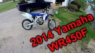 9. My New 2014 Yamaha wr450f dirt bike