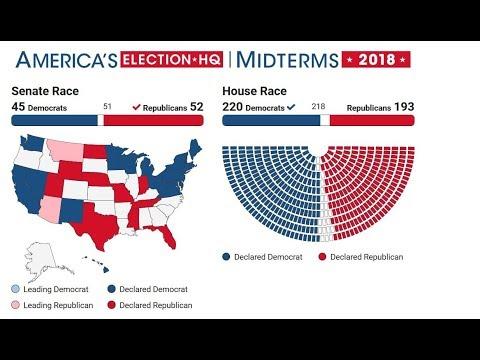 """FOX 5 LIVE (11/7): POST-ELECTION recap;  Pres. Trump calls midterms """"tremendous success"""""""