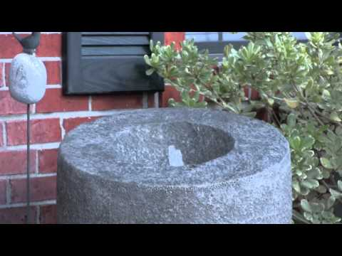 Video for Magma Natural Rock Outdoor Floor Fountain