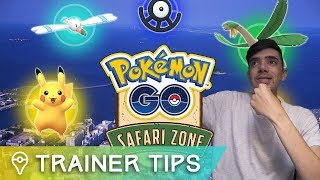 HOW TO GET INTO POKÉMON GO SAFARI ZONE JAPAN - TROPIUS + SHINY WINGULL! by Trainer Tips